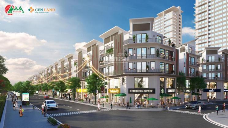 Mở bán shophouse Khai Sơn, Long Biên 3 tỷ nhận nhà, tặng xe 1,5 tỷ, 8 xe SH, DT 90m2, 0904615286