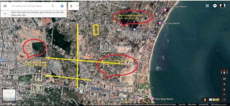 Đất mặt tiền Nguyễn Thị Minh Khai nối biển Bình Sơn Yên Ninh TP Phan Rang Tháp Chàm, Ninh Thuận ảnh 0