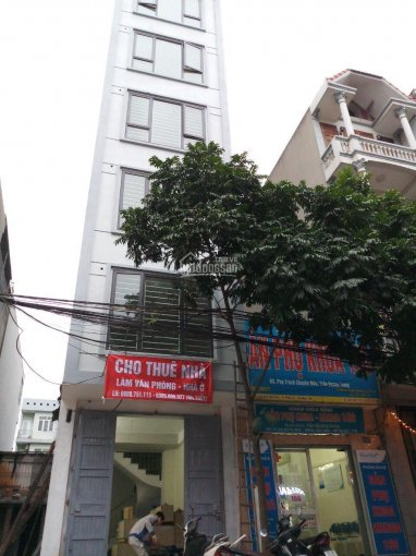 Chính chủ cho thuê nhà 6 tầng khu giãn dân Yên Phúc, Quận Hà Đông, Hà Nội