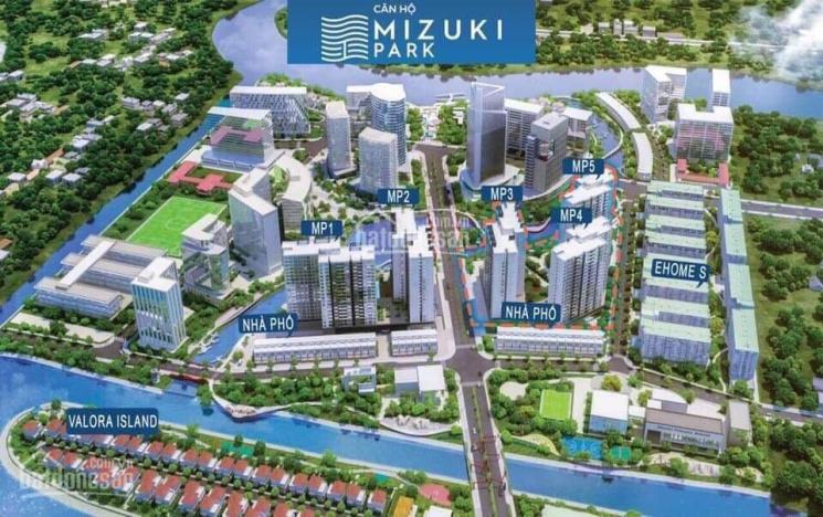 Bán căn hộ Mizuki Park 56m2, 72m2, 98m2, Ehome S Nam Sài Gòn