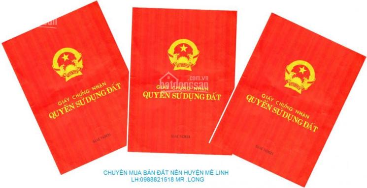 Chuyên mua bán đất liền kề biệt thự dự án Cienco5, huyện Mê Linh, sổ đỏ chính chủ