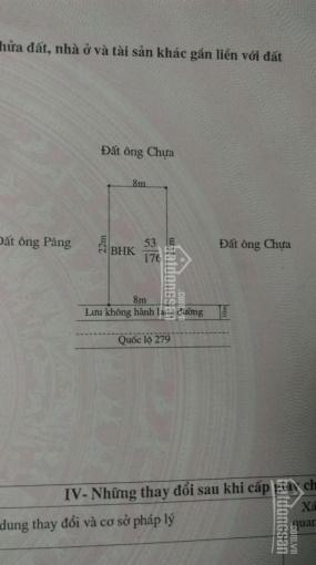 Bán đất trung tâm thành phố Điện Biên Phủ 8m x 22m giá: 640tr TL