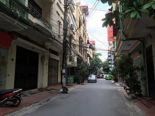 Bán nhà phố Mạc Thái Tổ, DT 48m2 x 5 tầng, mặt tiền 5m, ngõ thông ô tô tránh. Giá bán: 8.1 tỷ