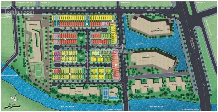 Đất nền MT đường 20m Quận 7 ngay cầu Phú Mỹ Q7, DT: 85m2 - 100m2, XD ngay, NH 70%, LH 0901294946