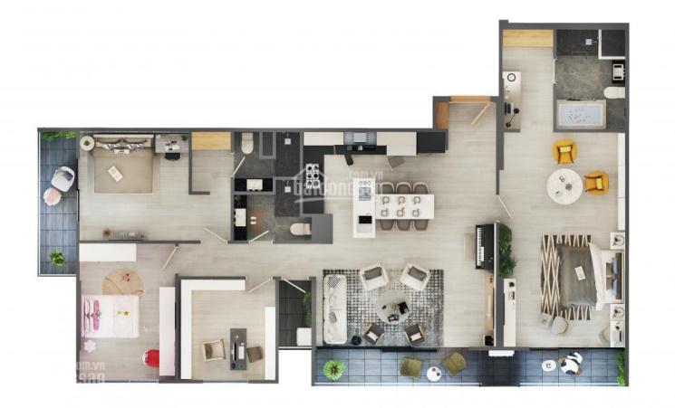 Nhanh tay nhận ngay 10 suất nội bộ giá ưu đãi căn hộ 3PN, penthouse chỉ từ 28 tr/m2 - LH 0917970690