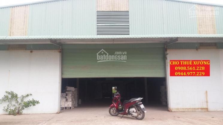 Nhà xưởng cho thuê Thạnh Lộc 40, quận 12. DT: 600m2, giá 25 triệu/tháng, LH: 0937.388.709 ảnh 0
