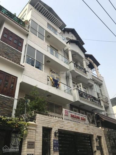 Bán nhà hẻm Nguyễn Giản Thanh, p15, Quận 10, DT: 7.7x14m, 5 tầng thang máy. HĐ thuê: 90tr/th