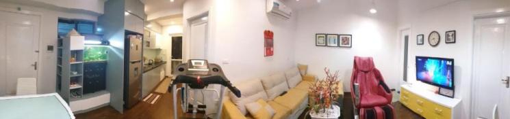 Bán căn hộ CC VP5 Linh Đàm, căn góc, nội thất thiết kế đồng bộ, còn 1 năm bảo hành + 6 năm bảo trì