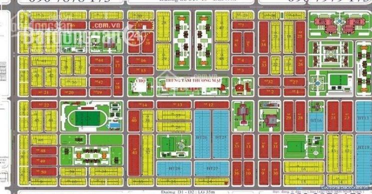 Nhận mua bán kí gửi dự án HUD và XDHN, Nhơn Trạch, LH: 0981 270 271