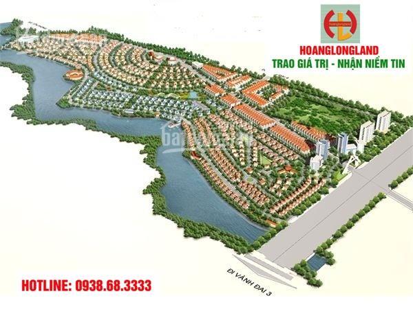 Bán đất biệt thự, DT 350m2, lô góc gần đường 24, hướng TB, giá 11.6tr/m2, LH 0938.68.3333