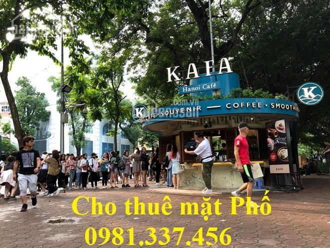 Cho thuê nhà mặt phố Tạ Quang Bửu, 83m2, MT 5m, 19 tr/th. Quý mặt phố 0981337456