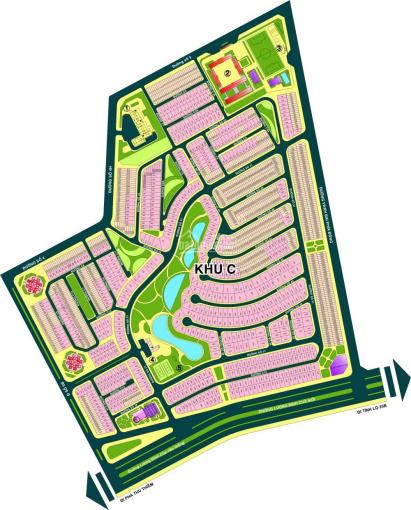 Bán đất biệt thự An Phú An Khánh khu C DT 10x20m, DTCN 202.3m2, giá bán 22.5 tỷ. LH Đô 0903157015