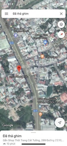 Bán nhà mặt tiền đường 23/10, gần Lottemart Nha Trang, giá 60tr/m2, LH: 0898.368.999 (Bách) ảnh 0