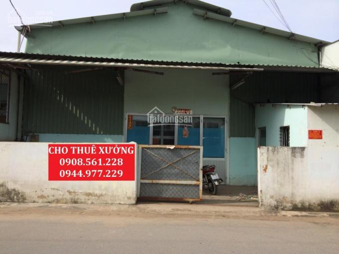 Cho thuê 2 nhà xưởng nằm trong cụm CN, Quận 12, DT: 200m2 + 800m2, LH: 0937.388.709