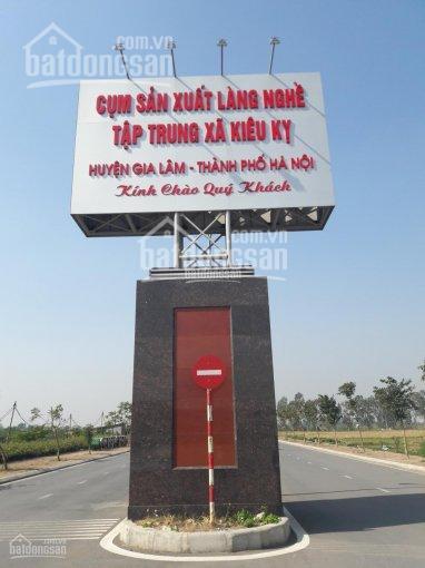 Cần bán gấp 2 lô đất đấu giá làng nghề, Kiêu Kỵ, Gia Lâm, Hà Nội