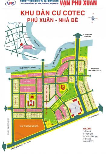Hot - Bán đất nền phố KDC Cotec Phú Xuân, DT: 130m2, giá 26tr/m2, hướng TN. Mr Huy: 0934179811