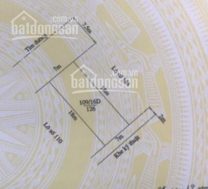 Cần bán biệt thự 126m2, lô 16D Lê Hồng Phong, đoạn rẽ vào nhà hàng Amakong
