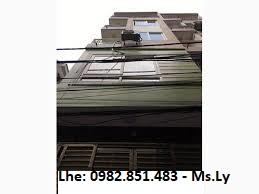 Cho thuê nhà 45m2 x 5 tầng ngõ 25 Phạm Thận Duật, ô tô đỗ cửa. 20 triệu/th