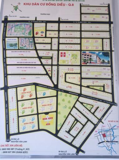 Bán nhà đất khu Đồng Diều - Cao Lỗ giá rẻ gần trung tâm TP, P4, Q8, TP. HCM ảnh 0