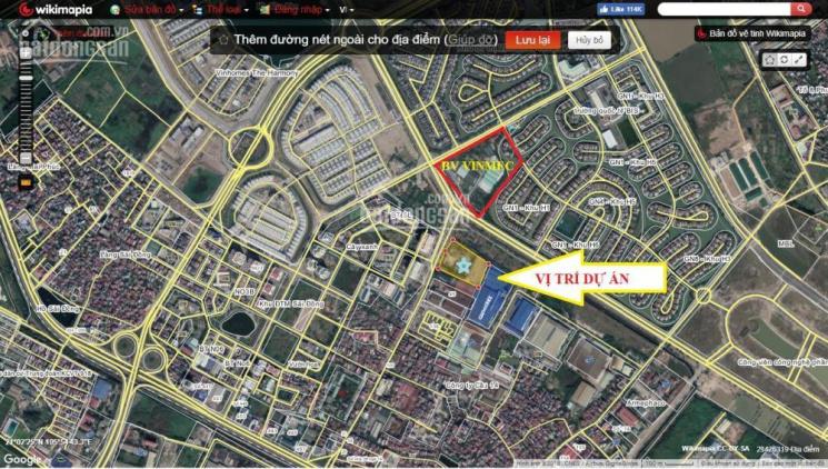 Mở bán chung cư cao cấp đối diện Vinhomes Riverside, gần Aeon Mall, giá từ 22tr/m2. LH 0988.280.236
