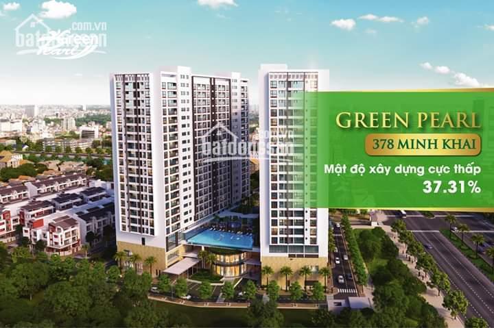 Sở hữu căn 88m2, 3PN tại Green Pearl nhận quà tặng 1.5% và ưu đãi CK 3.5% GTCH,  0911.05.6336