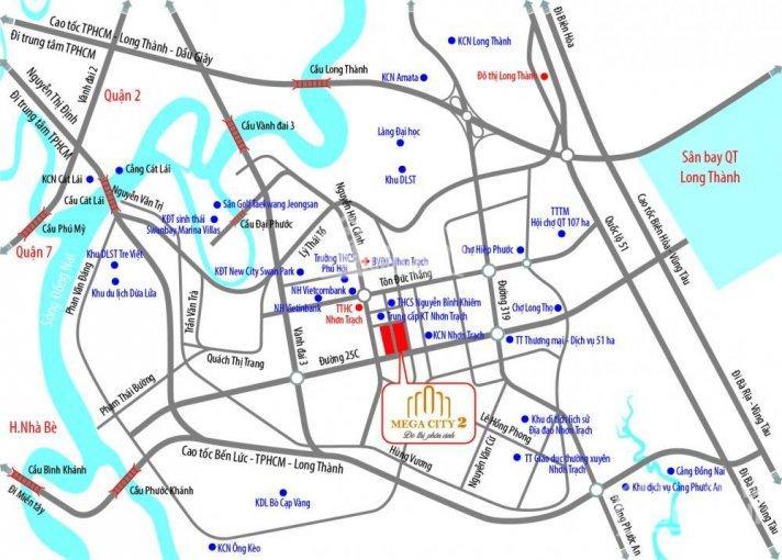 Mega City 2- liền kề đường Vành Đai 3- Q9. Mở bán block T31 đẹp nhất da, giá gốc CĐT. LH 0988752477