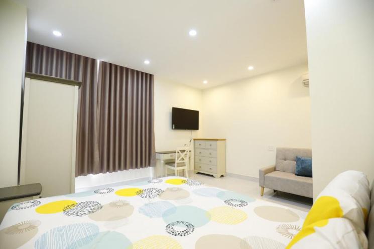 Cho thuê gấp căn hộ Hòa Phú, đối diện TT hành chính TP Mới, full nội thất. LH chính chủ 0909639069