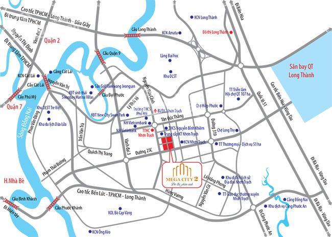 Dự án KĐT Mega City 2 đất vàng vệ tinh TP HCM, giá CĐT chỉ từ 590tr/nền, chiết khấu 10 chỉ vàng SJC ảnh 0