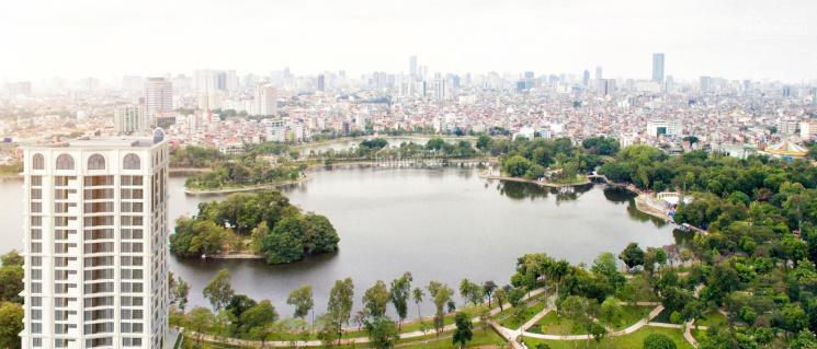 Bán nhà chung cư 55 Lê Đại Hành tầm nhìn trọn hồ công viên Thống Nhất. LH: 0987346793
