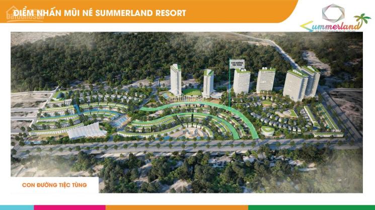 Siêu dự án Summerland, nhà phố, biệt thự, shophouse mũi né chính thức mở bán, LH: 0347.767.177