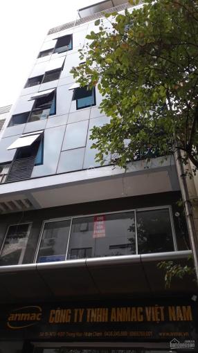 Cho thuê tòa VP Trung Hoà Nhân Chính, 125m2, 7 tầng, 1 hầm, sàn thông, thang máy LH 0965166930 ảnh 0