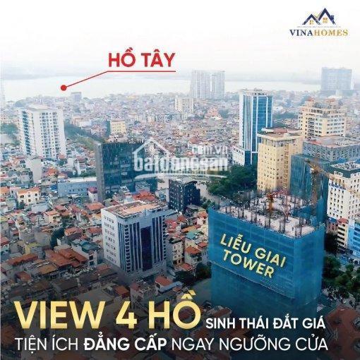 Bán CC Liễu Giai Tower - 26 Liễu Giai: 74m2 2 ngủ 2WC 2 ban công, giá 4 tỷ 5, LH: 0392969999