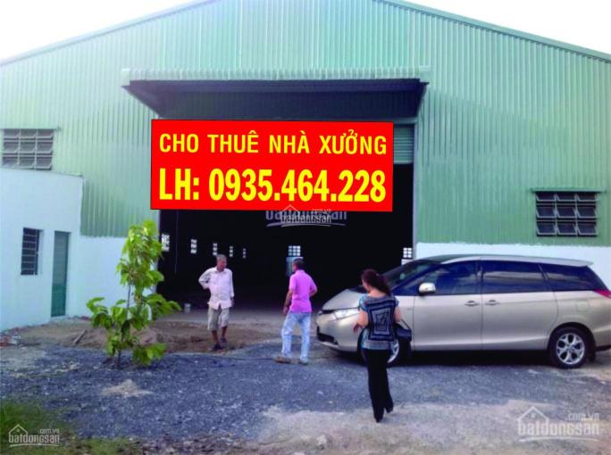 Cho thuê nhà xưởng Huỳnh Thị Na, Hóc Môn, DT 500m2, giá 20tr/th. LH: 0935464228