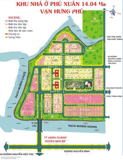 Bán đất nền nhà phố MT đường Số 7 20m KDC Vạn Hưng Phú dãy A DT 125m2 giá 45tr/m2. LH 0934179811 ảnh 0