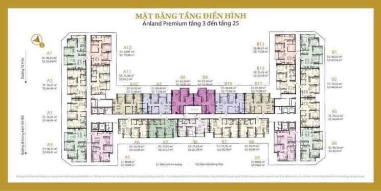 Chính chủ cần bán căn 54m2 tầng thấp Anland Premium giá ngoại giao cực rẻ. LH: 0326342396
