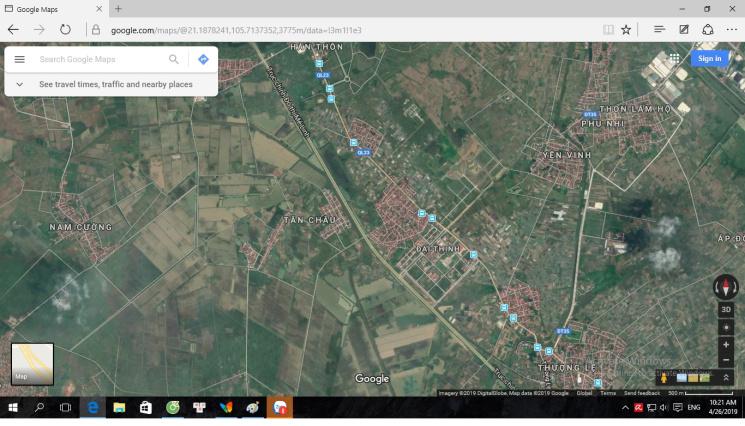 Chính chủ cần bán 100m2 đất thổ cư tại trung tâm hành chính Mê Linh, thành phố Hà Nội