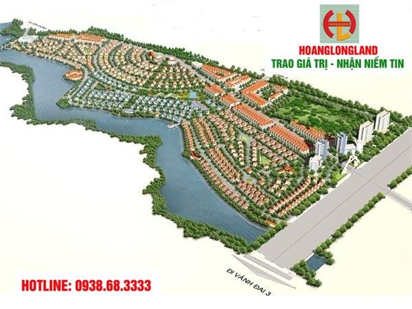 Bán đất biệt thự mặt Hồ Sen, DT 240m2, lô 2 mặt tiền, view Hồ Sen, giá 11tr/m2, LH 0938.68.3333