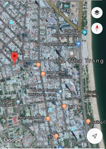 Bán đất MT xây khách sạn đường Nguyễn Thị Minh Khai, Nha Trang, 292m2 (10,5x27,8m). 0917183396