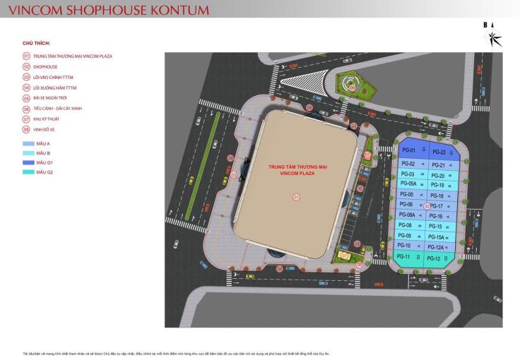 Chính chủ cần bán căn góc nhà phố Vincom shophouse Kon Tum, liên hệ: 0949883047 ảnh 0