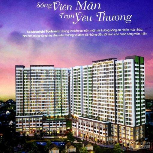 Cần bán căn Moonlight Boulevard 2PN 2WC, mặt tiền đường Kinh Dương Vương, ngay Aeon Mall 0909052122 ảnh 0