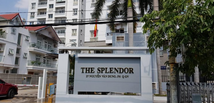 Cho thuê căn hộ 3 phòng ngủ 112m2 chung cư The Splendor, P6, Gò Vấp, 10 triệu/tháng 0919989680