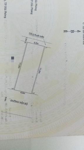 Bán đất 44m2 tại Sở Dầu, Hồng Bàng, Hải Phòng, giá 1.15 tỷ, LH 0901.583.066