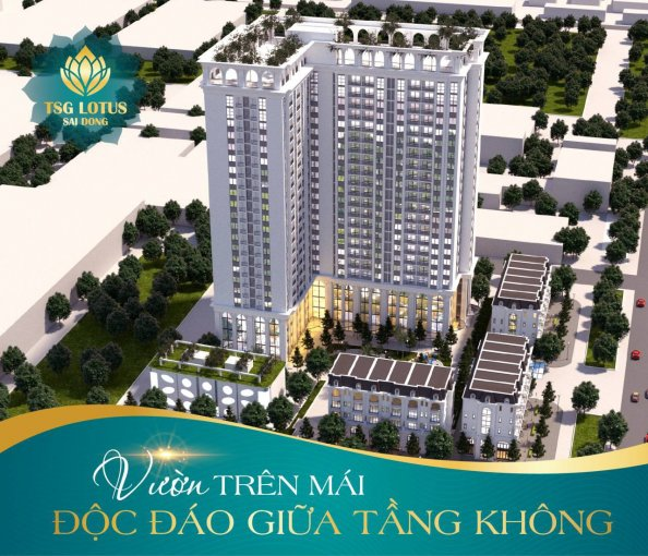 Mở bán thêm ba sàn mới, tặng ngay 1 chỉ vàng cho KH đặt mua căn hộ smarthome TSG Lotus Sài Đồng