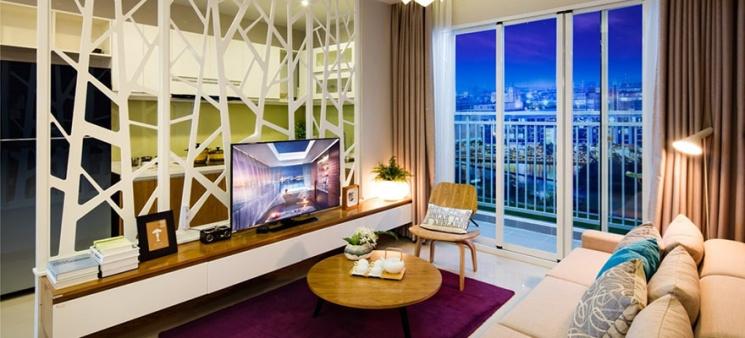 Bán căn hộ Luxury Home Quận 7 dt 70m giá 2pn 2 wc giá 1,99 tỷ nhận nhà ở ngay. hotline 0932.575.575