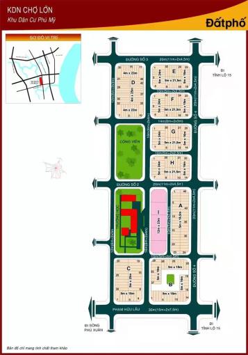 Nhận ký gửi mua bán đất nền Phú Mỹ Chợ Lớn, CIQ4 nhiều nền giá cực tốt cho khách mua ở LH0938940890