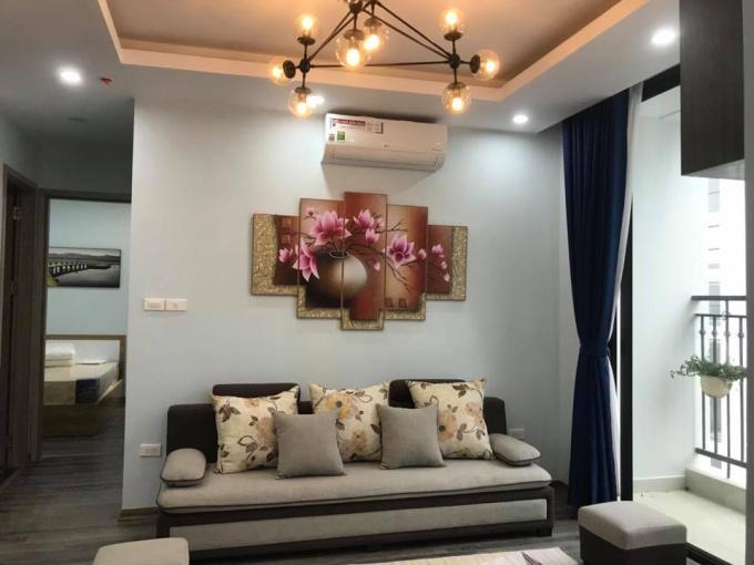Cho thuê căn hộ Vinhome Green Bay, tòa G2, Mễ Trì, DT 75m2, 2PN, đầy đủ đồ (căn hộ 2001)