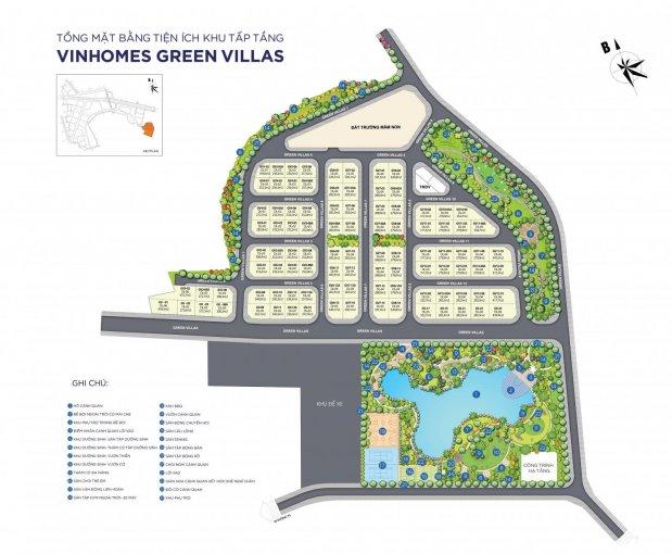 Bán siêu biệt thự Vinhomes Green Villas Đại Mỗ, Số 1 Hà Nội - Hotline: 0984879888