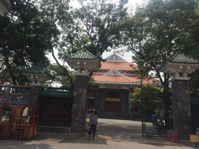 Bán gấp căn nhà cạnh nhà thờ Hoà Bình, P. Tân Hoà, TP. Biên Hoà, diện tích 110m2