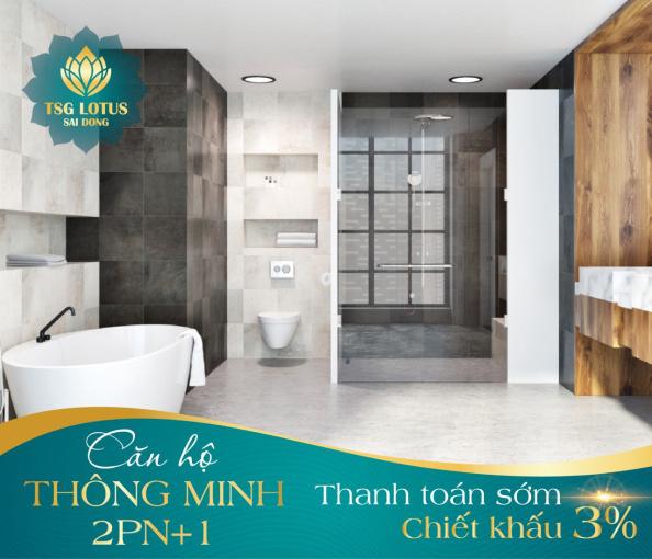 Bán căn hộ smarthome tại Sài Đồng, chỉ từ 2.1 tỷ/3PN, CK 3%, hỗ trợ vay 70%, miễn lãi 0%