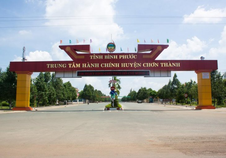 Mở bán các lô đất nền tại trung tâm huyện Chơn Thành, Bình Phước, giá 480tr/nền